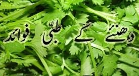 dhaniya ke faide in urdu