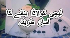 lychee colada recipe coconut milk