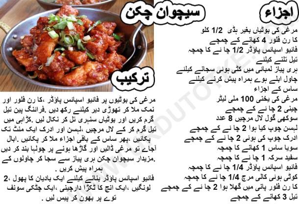 schezwan chicken recipe indian style