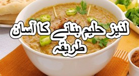 shahi haleem recipe in urdu