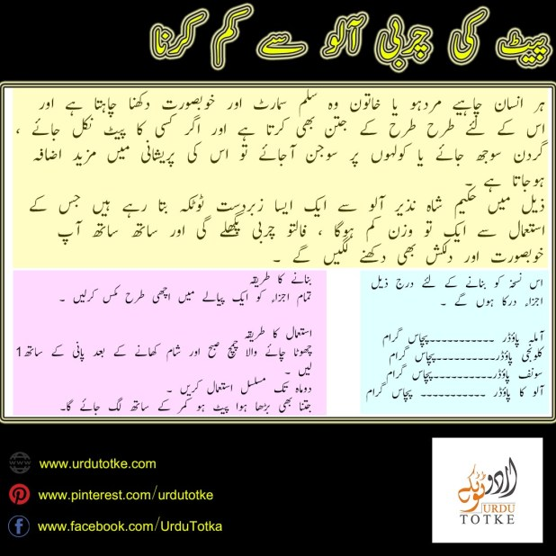 How to Lose Belly Fat in Urdu