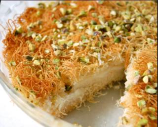 Kunafa Sweet Cooking Recipe in Urdu