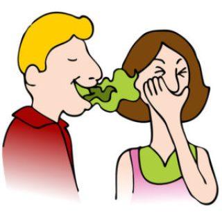 bad breath treatment at home in urdu