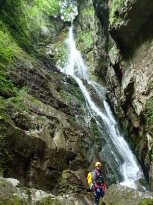 Canyon de Saratze - Olhadubie - Ur eta Lur Canyoning et randonnée