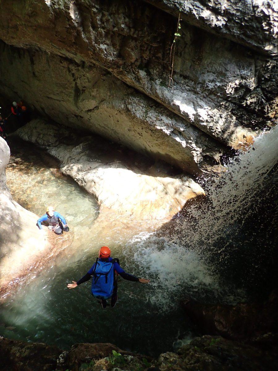 Canyon d'Harpea, Pays basque - Ur eta Lur, Canyoning et Randonnées