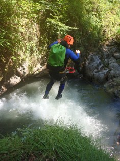 Canyon du Bitet, vallée d'Ossau - Ur eta Lur, Canyoning et Randonnée