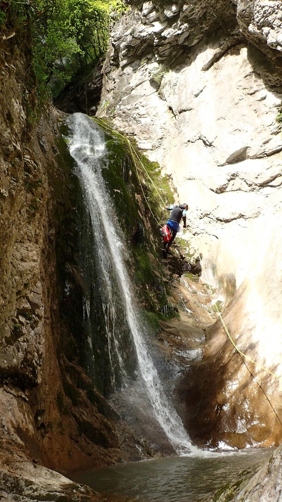 Canyon Errekaltia - Ur eta Lur, Canyoning et Randonnée