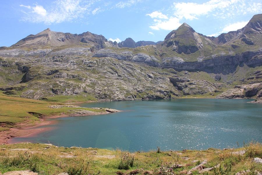 Lac d'Esteans, vallée d'Aspe - Ur eta Lur, Canyoning et Randonnée
