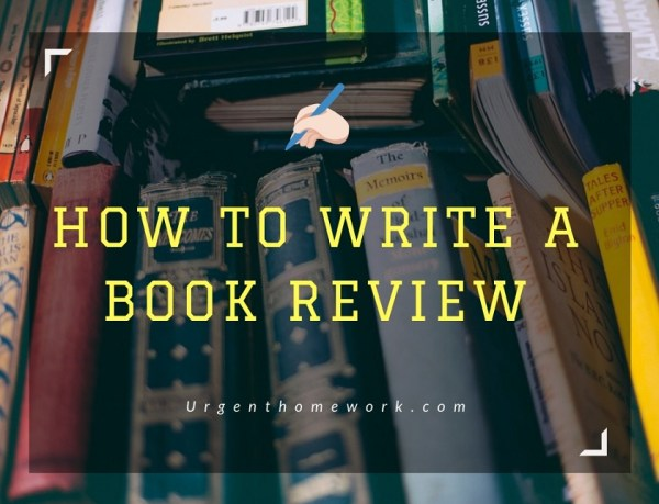 how to write a book review # 40