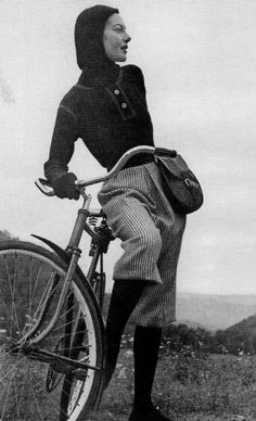 claire mccardell bicycle fashion