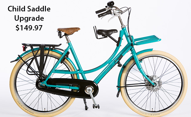 Azor_Omafiets_Aluminium_Pick_Up_Turquoise_With_Front_Carrier