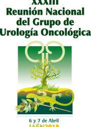 XXXIII Reunión Nacional del Grupo de Uro Oncología Jaén, 6 y 7 de abril de 2018