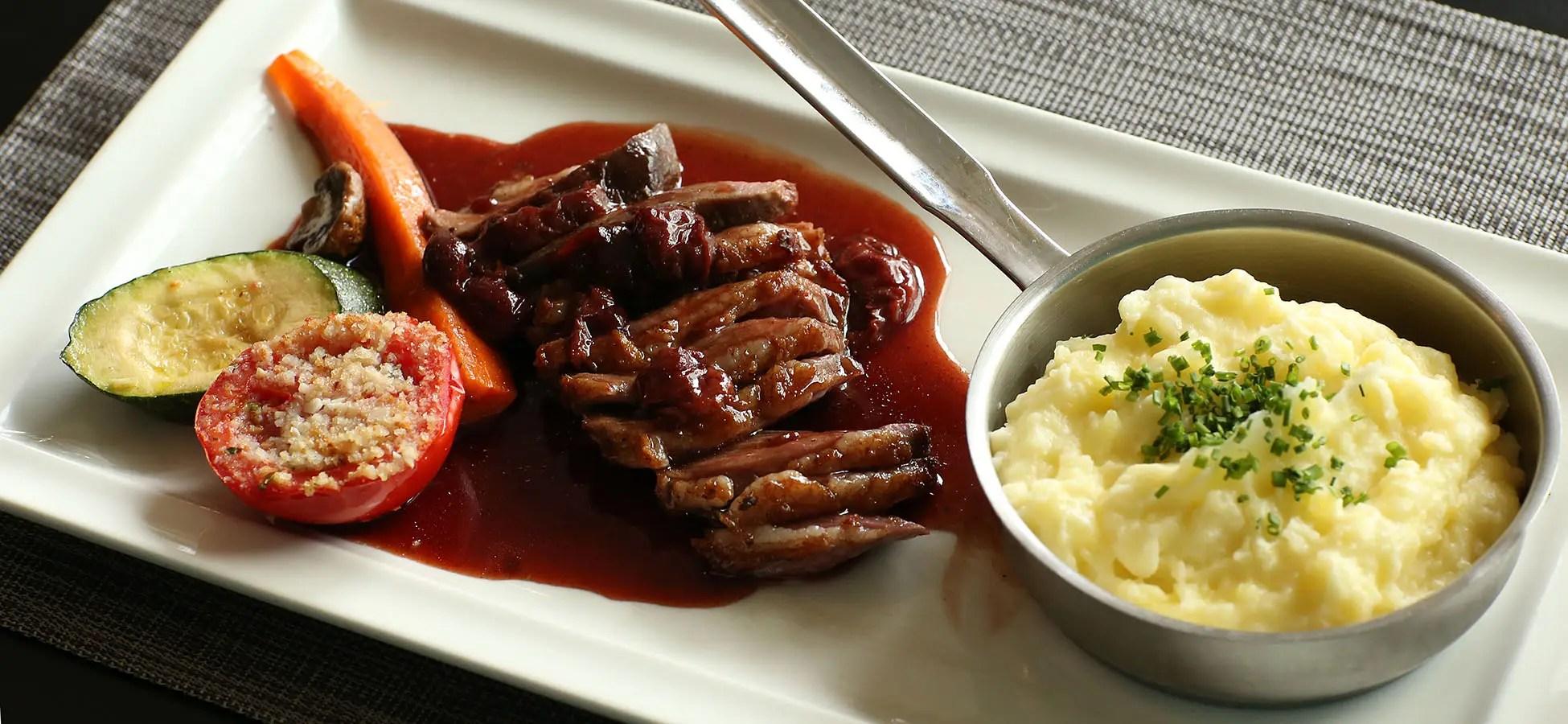 Bandeau Agence Photo : Photographie culinaire d'une assiette en Périgord