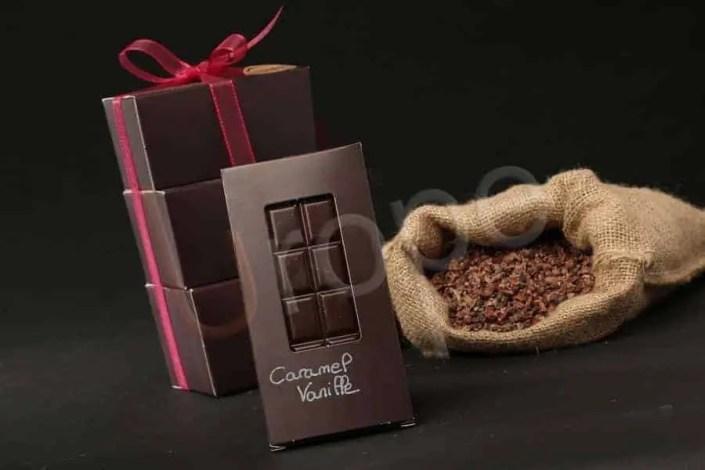 Confiserie caramel Vanille en illustration