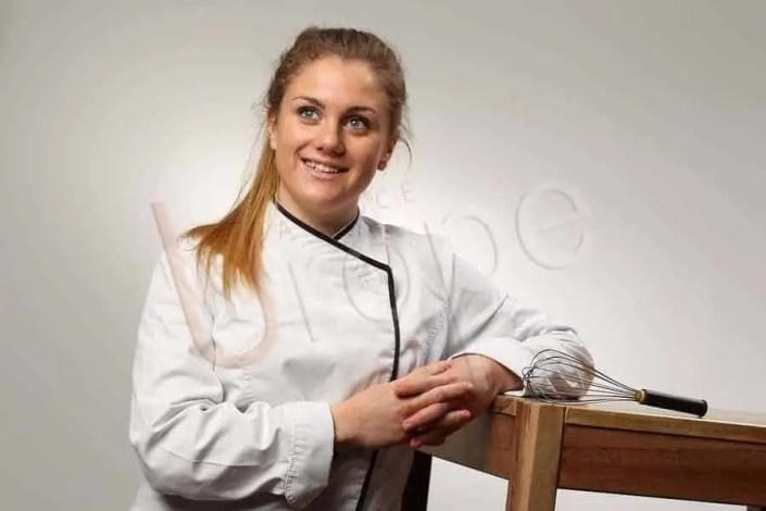 Portrait de Sandra, artiste culinaire