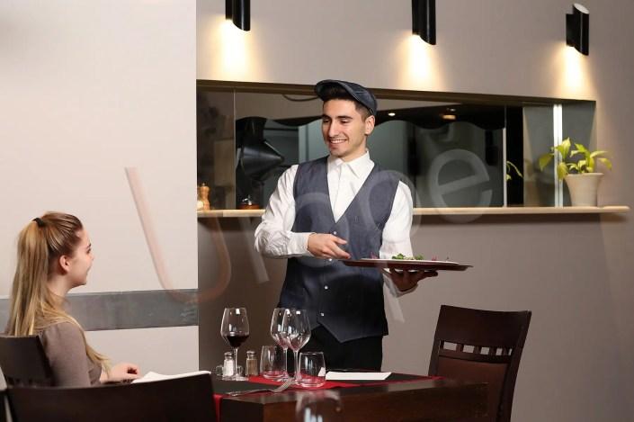 Reportage photographique au restaurant Le Risset à Varces pour Manelli