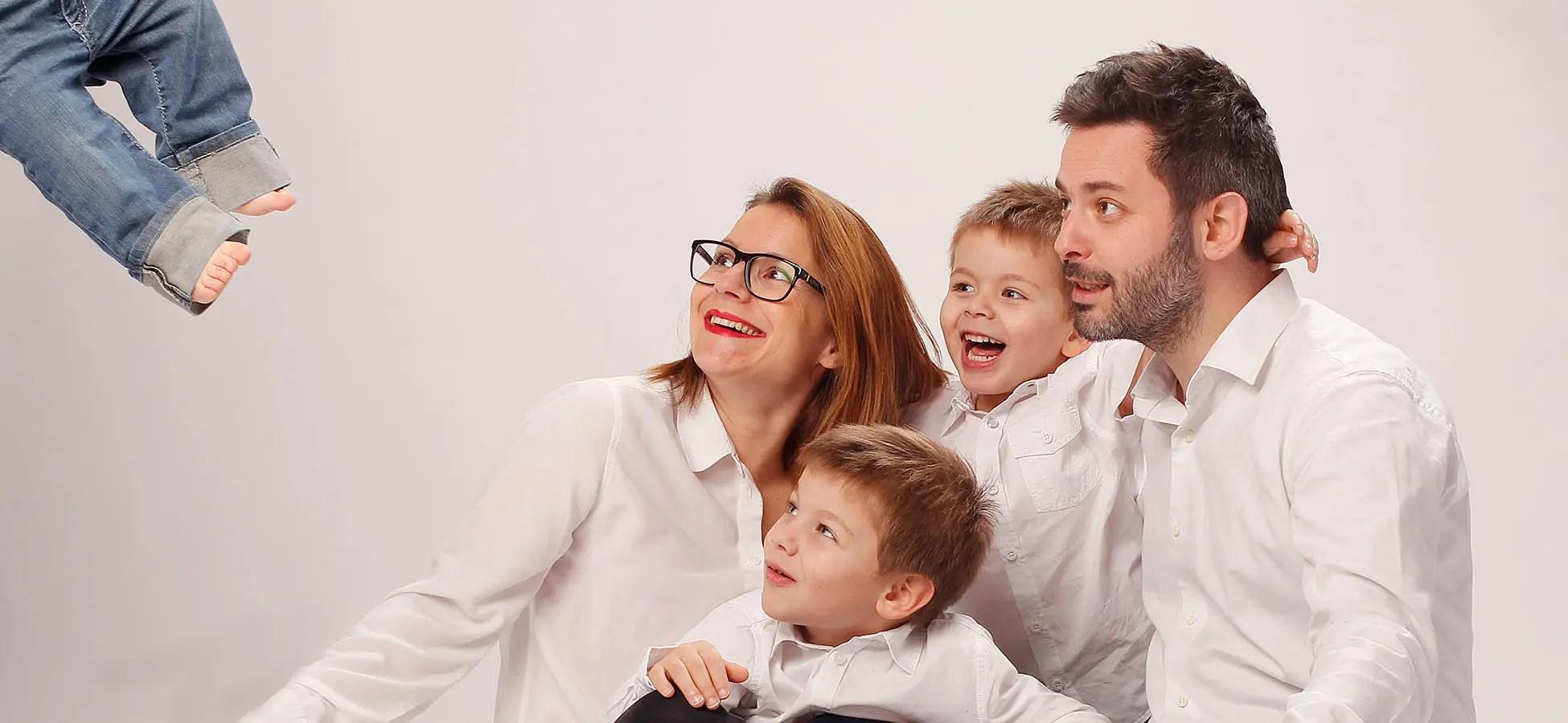 Bandeau Photographe Famille Studio Grenoble