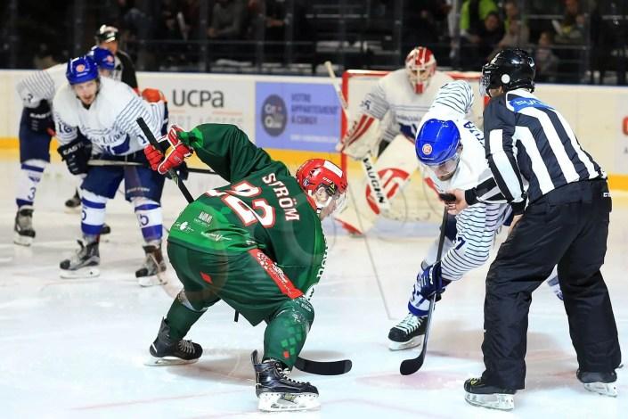 Prendre en photo un match de hockey à Cergy