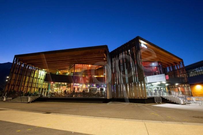 Photographie d'architecture avant un cocktail à la soirée d'entreprise de La Belle Electrique à Grenoble