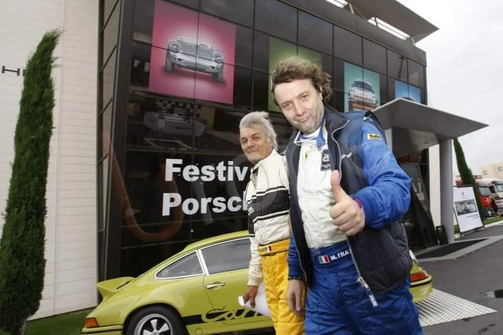 Séance Photo au Festival Porsche au Mans