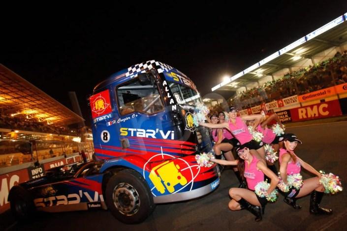 Photographe professionnel : inauguration de la course de Camion au Castellet