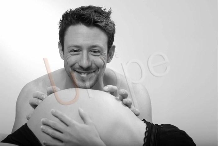 Photographe Grossesse Grenoble Studio