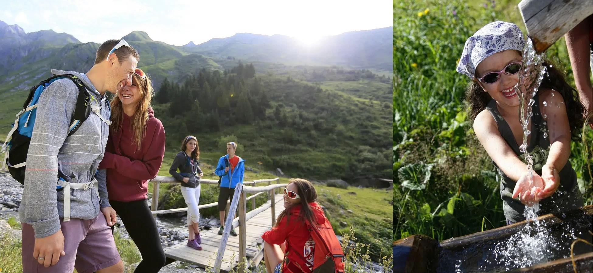 Bandeau d'illustration photographe tourisme de montagne en été