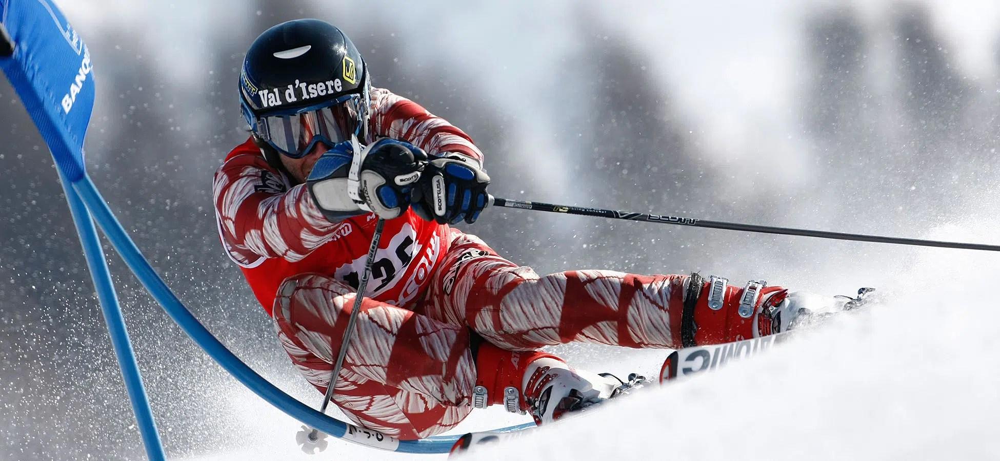 Photographe sportif : coupe du monde de ski à Val d'Isère