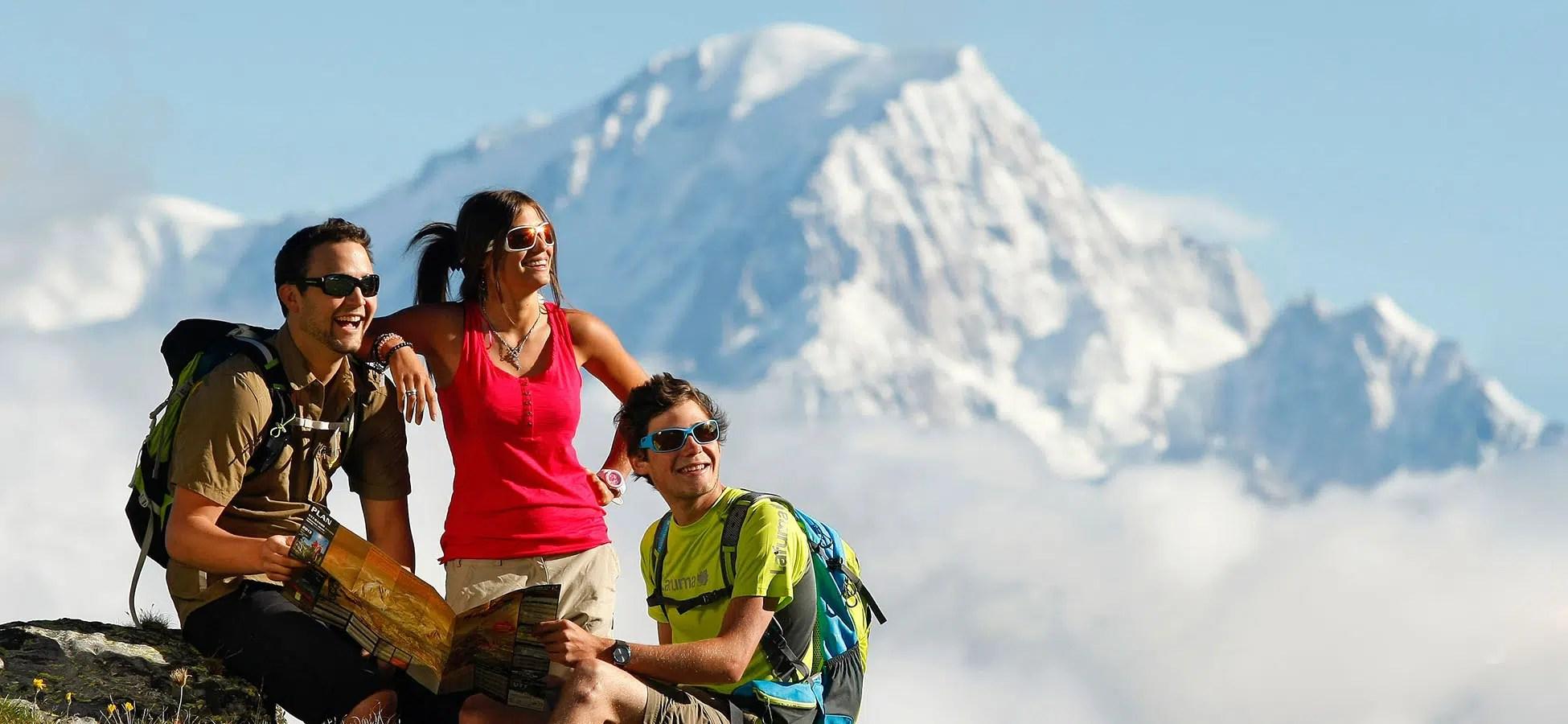 Reportage photographique d'illustration pour le Tourisme au Mont-Blanc