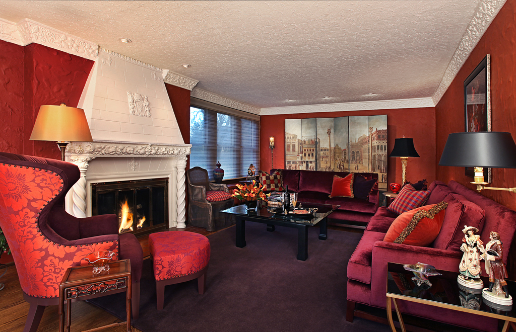 Warm, Elegant, Comfortable Living Room - Urso Designs, Inc. on Comfortable Living  id=26921