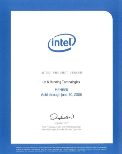 Intel Product Dealer 2006b