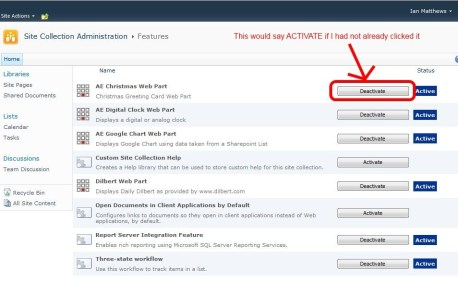 3c-activate-button-site-collection-features-sharepoint-2010-free-webparts
