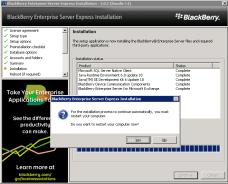 8i-install-bes-express-reboot