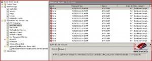 Windows Event Viewer Directory Service NTDS ISAM Error 467 Database Corrupt
