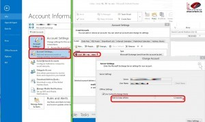 How To Set The Maximum OST Storage Size Outlook 2013