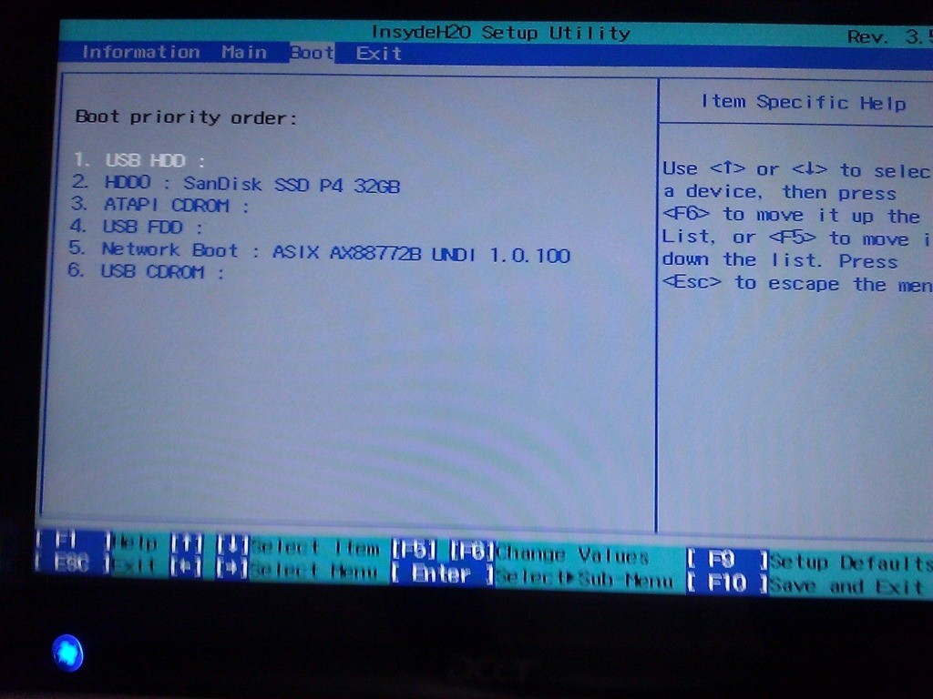 Reset Acer Aspire 5745g Bios - YouTube