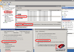 exchange-2010-login-owa-more-options-ecp-iis-fix-USE FORMS-BASED AUTHENTICATION-emc