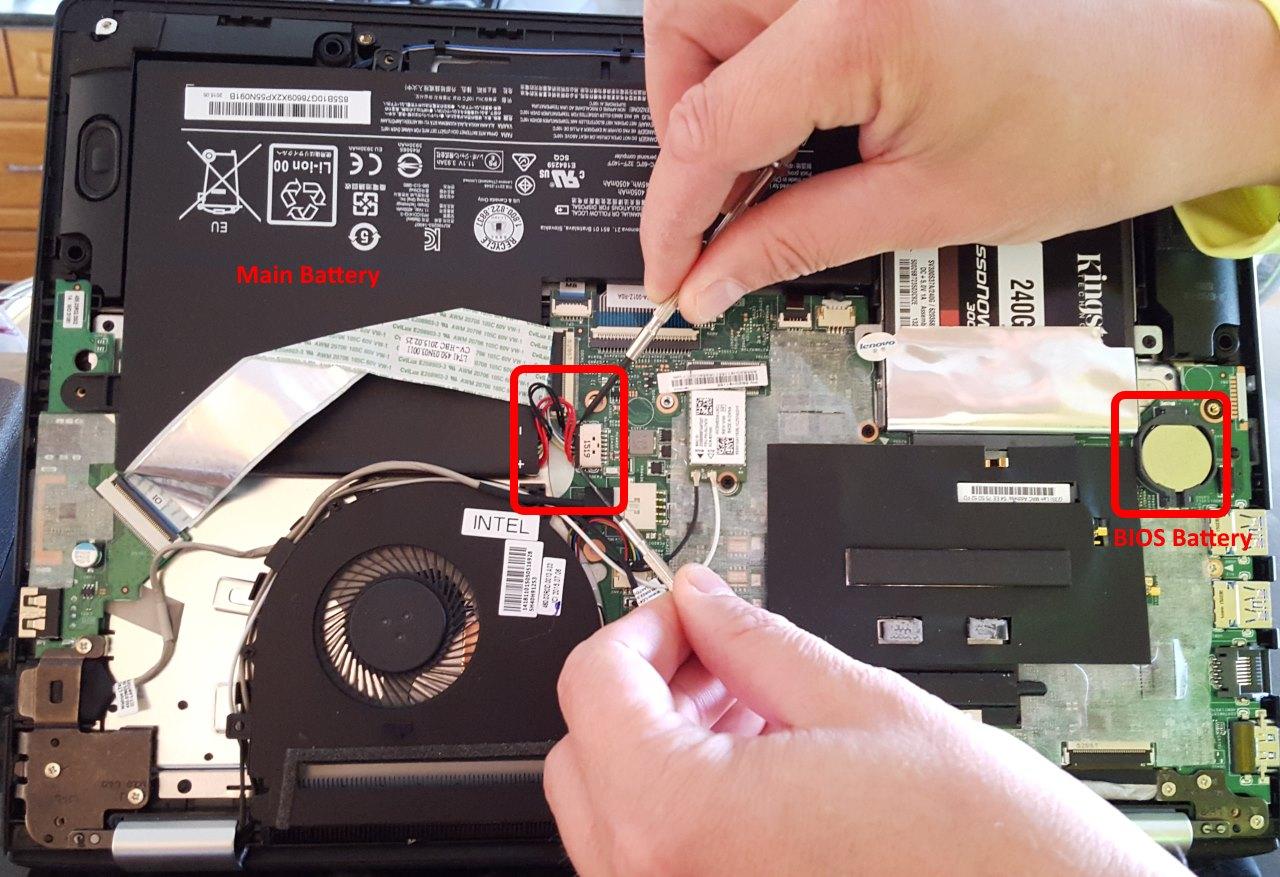 SOLVED: Lenovo Flex 3 Flashing Power Light But Will Not