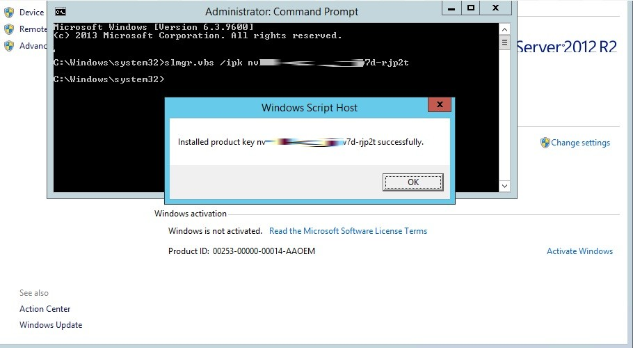 Solved how to activate windows 10 server 2016 through command launch a cmd as an administrator command line to activate windows slmgr slui ccuart Choice Image