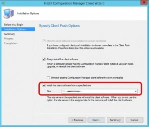 SOLVED: SCCM Cannot Deploy Client – Some of the selected