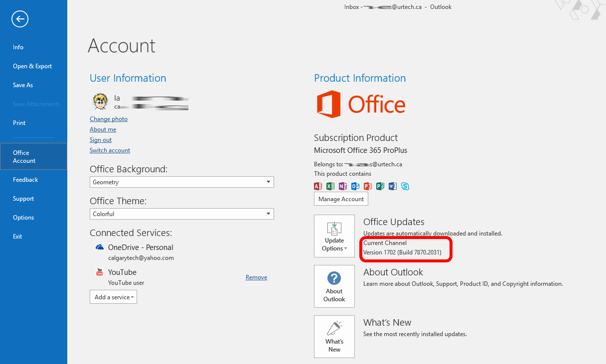SOLVED: Office365 Office 2016 Not Changing From Deferred to