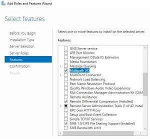 windows-server-add-feature-mulitpath-io
