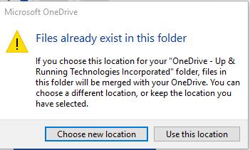 OneDrive-Install-files-exist
