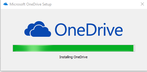 OneDrive-Install