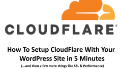 how to setup cloudflare with wordpress