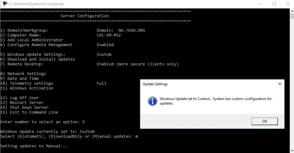 SOLVED: How To Set Windows Updates to Manual on Windows Server 2019