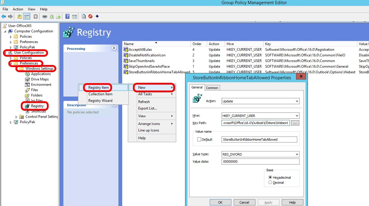 SOLVED: How To Disable GET ADD-INS Button in Outlook – Up & Running