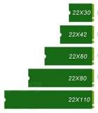 2230 2242 2260 2280 22110 SSD NVMe
