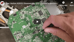 Acer Veriton Disassembly SSD Upgrade and Benchmark