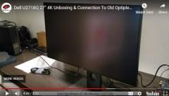 Dell U2718Q video